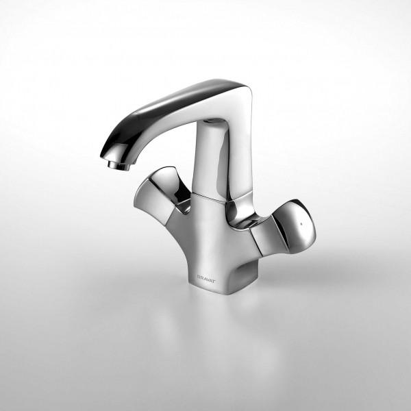 Смеситель Bravat Whirlpool для раковины высокий