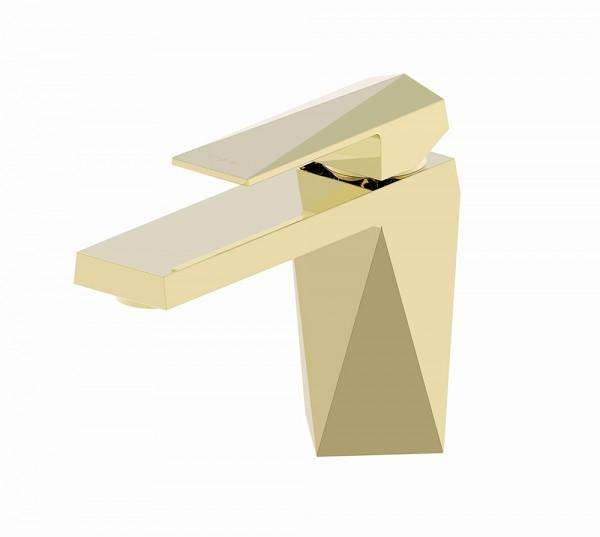 Смеситель Bravat Iceberg для раковины (золото)