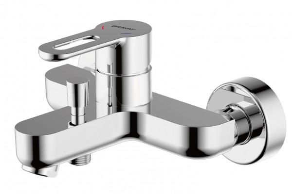 Смеситель Bravat Stream-D для ванны с коротким изливом (без аксессуаров)