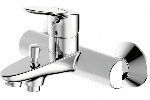 Смеситель Bravat Drop для ванны с коротким изливом (без аксессуаров)