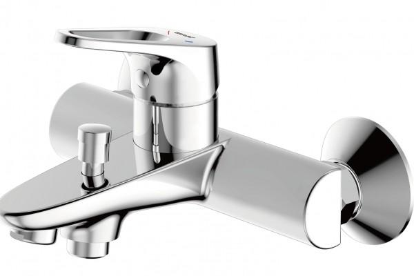 Смеситель Bravat Drop-D для ванны с коротким изливом (без аксессуаров)
