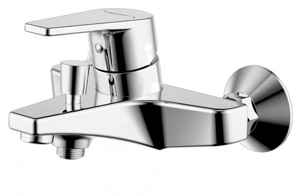Смеситель Bravat Line для ванны с коротким изливом (без аксессуаров)