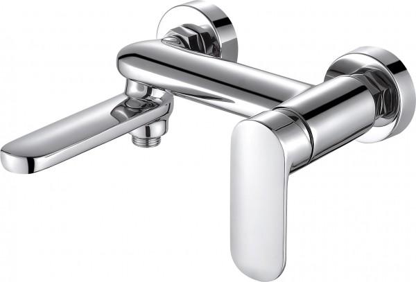 Смеситель Bravat Opal для ванны с коротким изливом (без аксессуаров)
