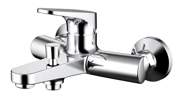 Смеситель Bravat Eler для ванны с коротким изливом (без аксессуаров)