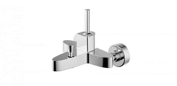 Смеситель Bravat Spring для ванны с коротким изливом (без аксессуаров)