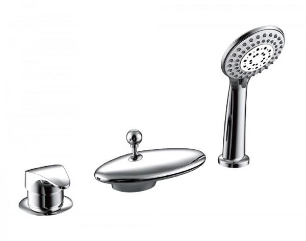 Смеситель Bravat Niagara для ванны врезной