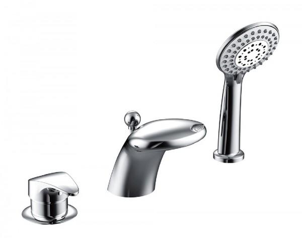 Смеситель Bravat Cobra для ванны врезной