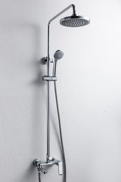 Душевая колонна со смесителем для ванны с поворотным изливом Opal R