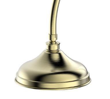 Душевая колонна со смесителем для ванны Bravat Art (бронза)