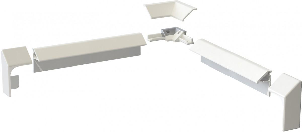 Бордюр декоративный для ванн и поддонов, 195см