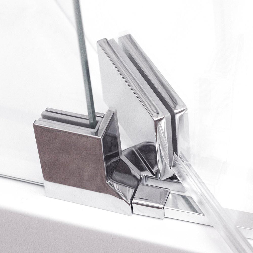 Душевая дверь ELEGANT NEO GDO1N/900/785-885*2015 brillant/transparent/6mm + GZ профиль