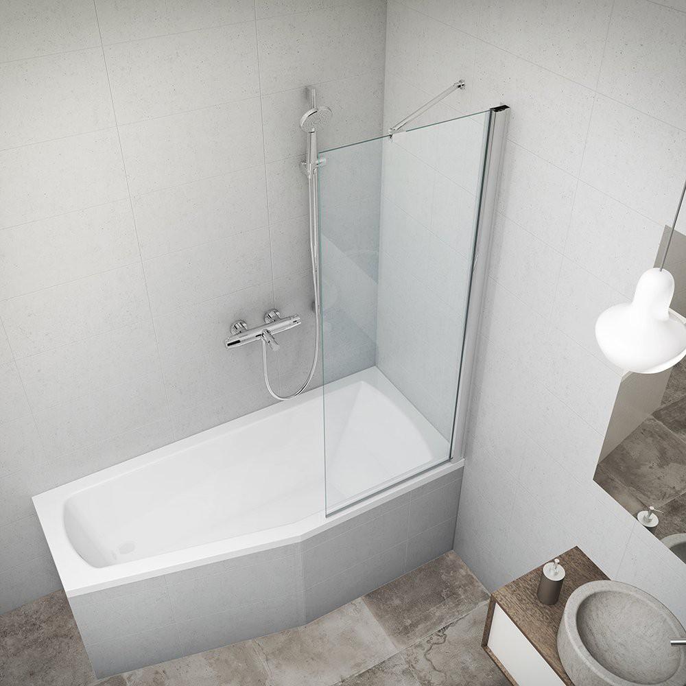Шторка для ванн PXV1/700 700*1517/brillant/transparent/6mm