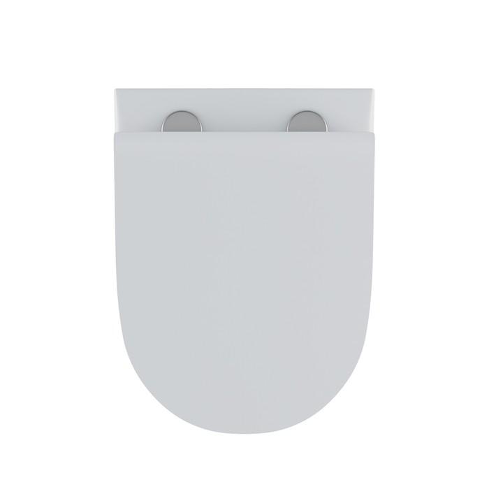 Унитаз подвесной Iddis Stone с сиденьем-микролифт