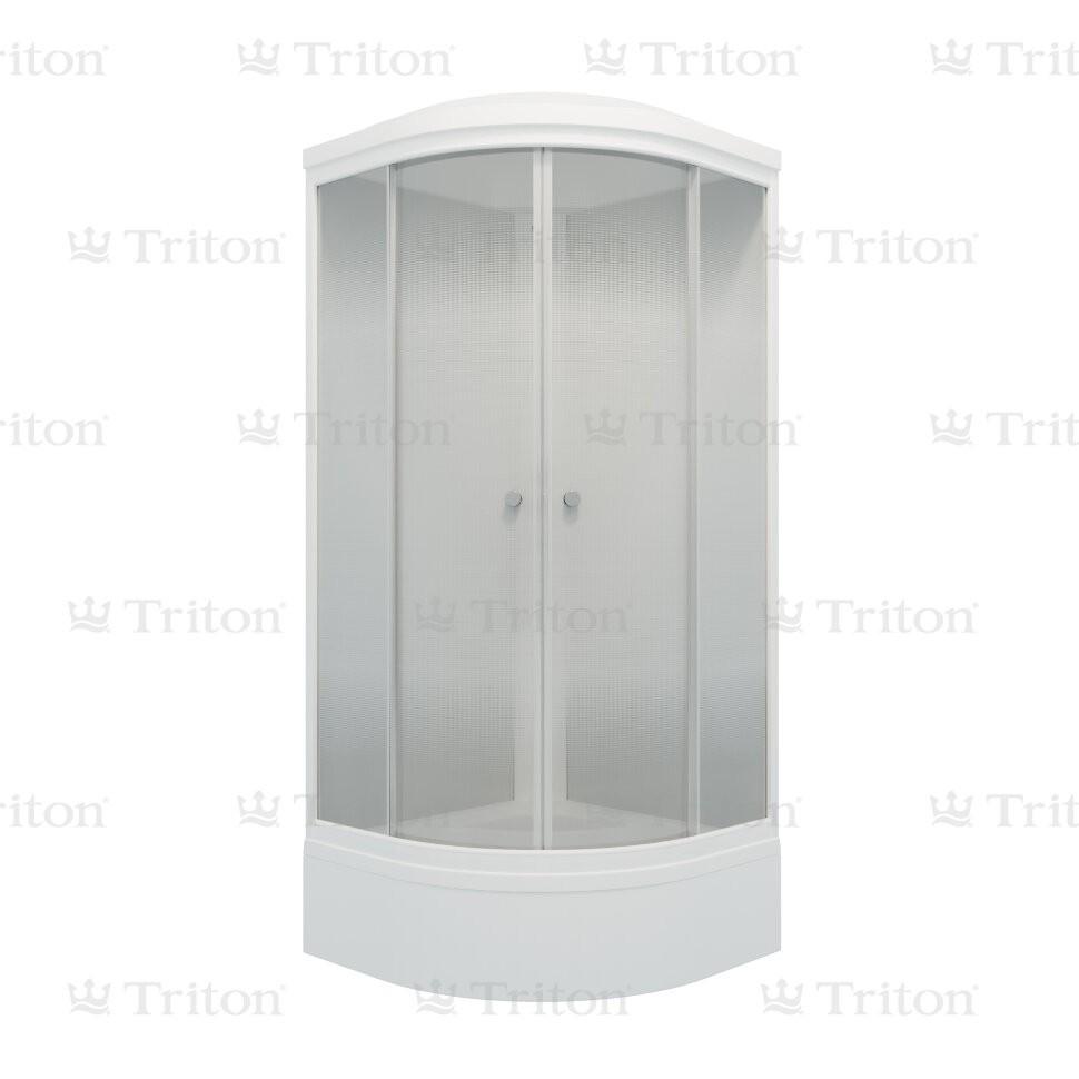 Душевая кабина Тритон Лайт 100*100 В (ДН4) средний поддон