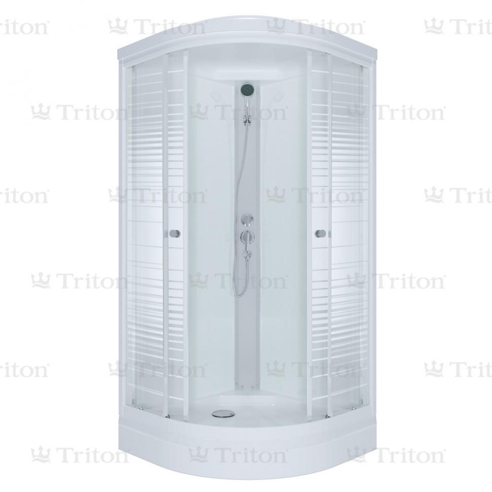 Душевая кабина Тритон Стандарт 100*100 А (ДН4) низкий поддон
