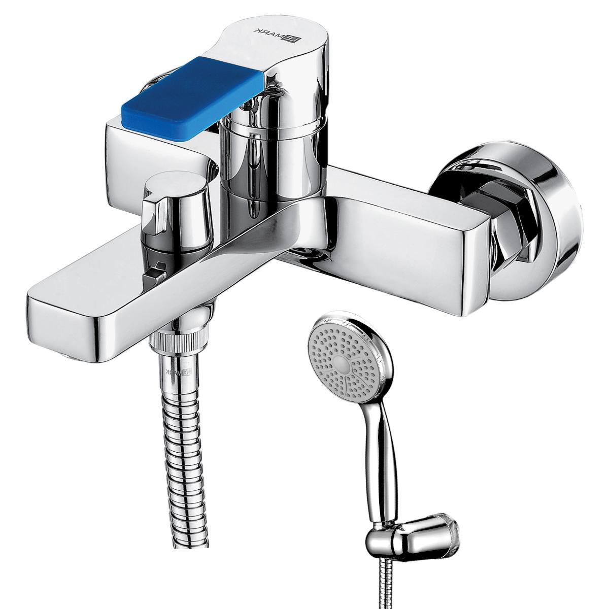 Смеситель для ванны Lemark Aura с коротким изливом