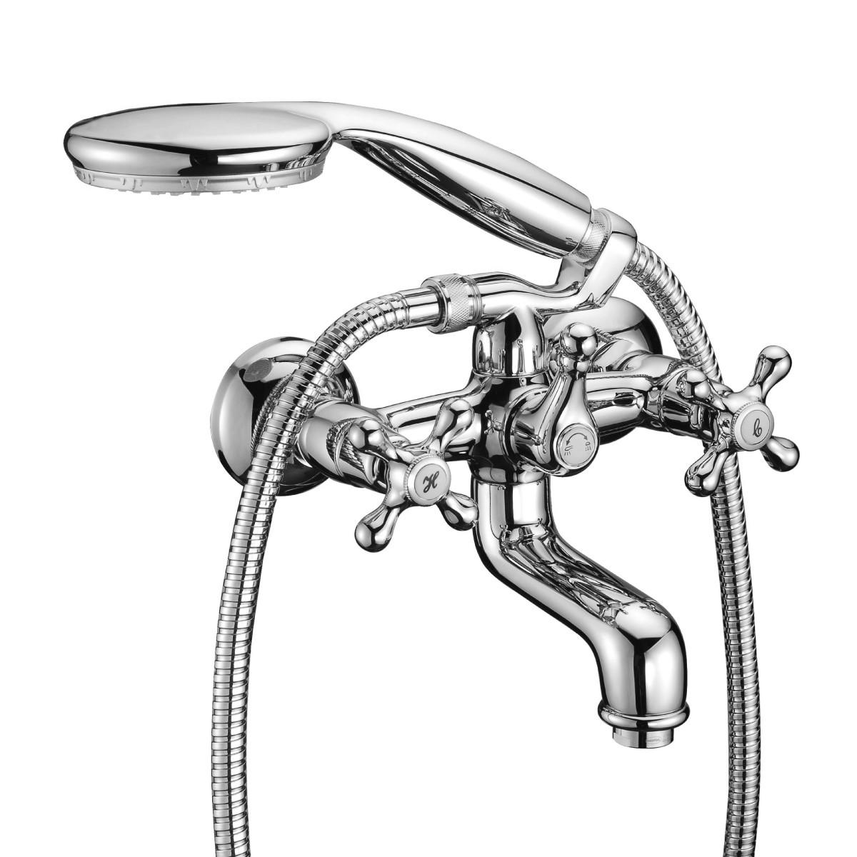 Смеситель для ванны Lemark Standard с коротким изливом
