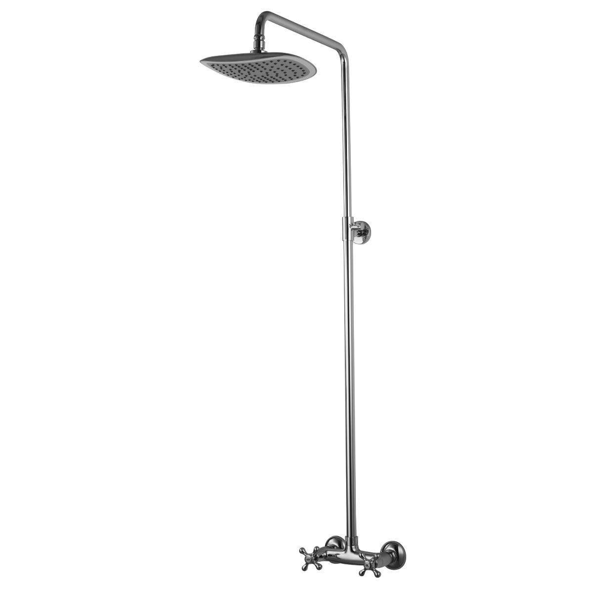 Душевая стойка Lemark Standard с верхним душем