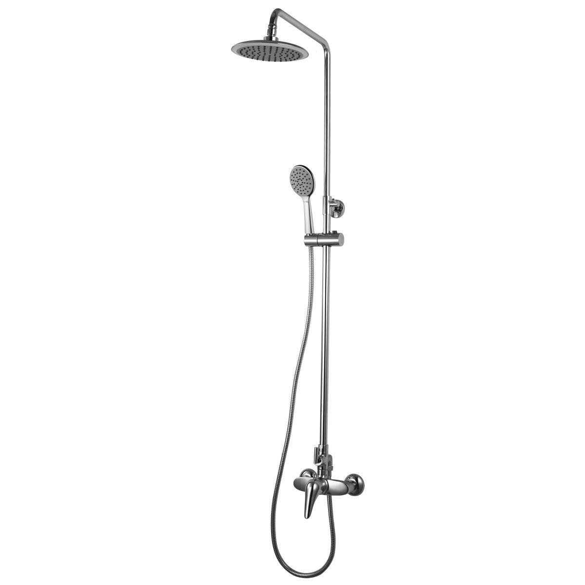 Душевая стойка Lemark Poseidon с верхним душем