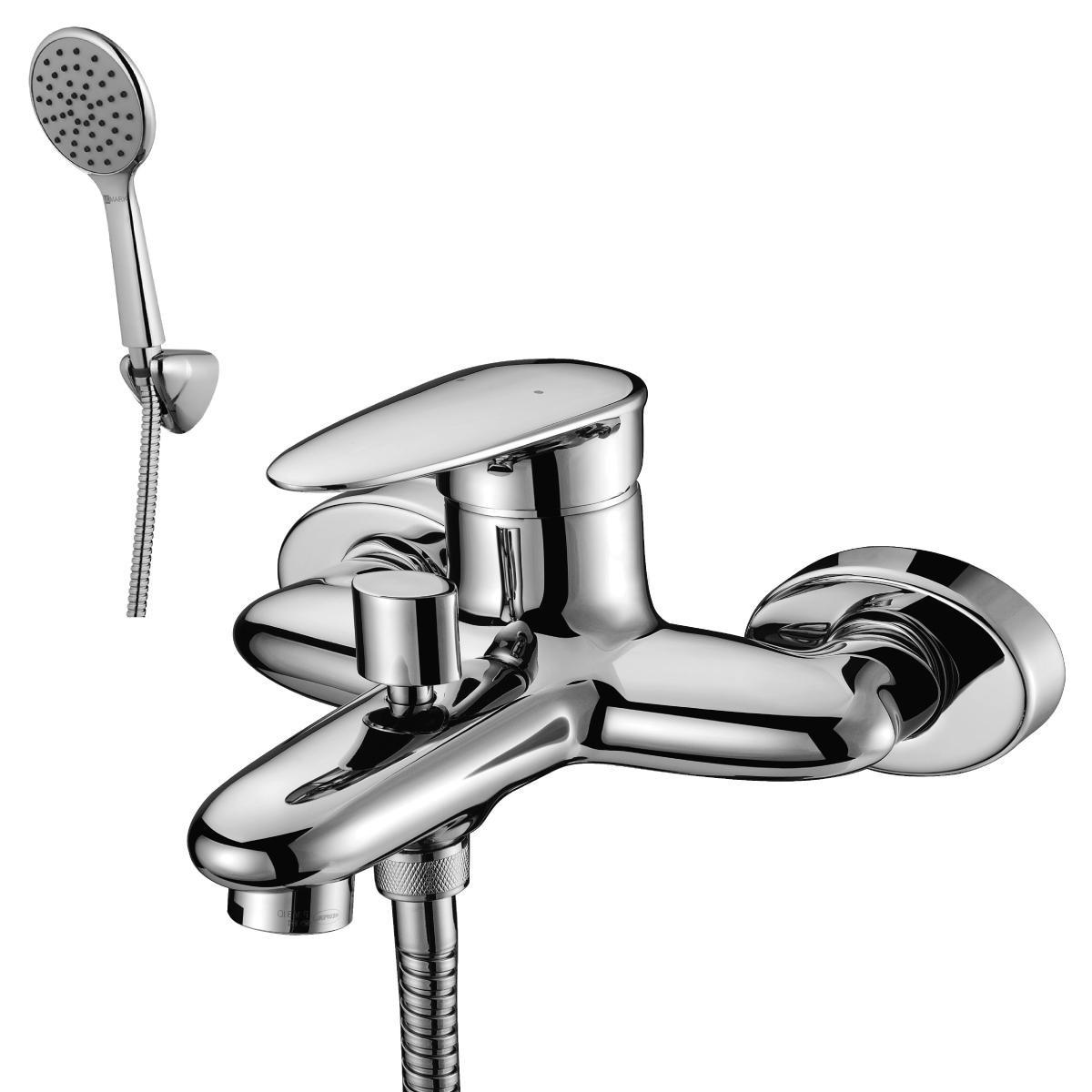 Смеситель для ванны Lemark Status с коротким изливом