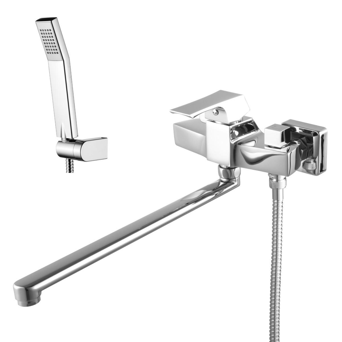 Смеситель для ванны Lemark Unit с поворотным изливом 350 мм