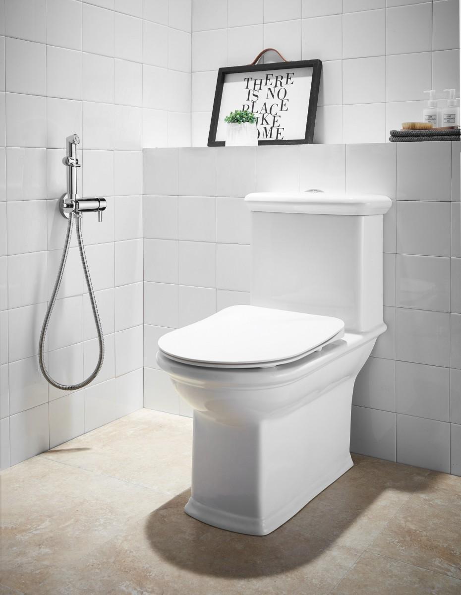Гигиенический душ Lemark Solo встраиваемый с плавной регулировкой напора воды