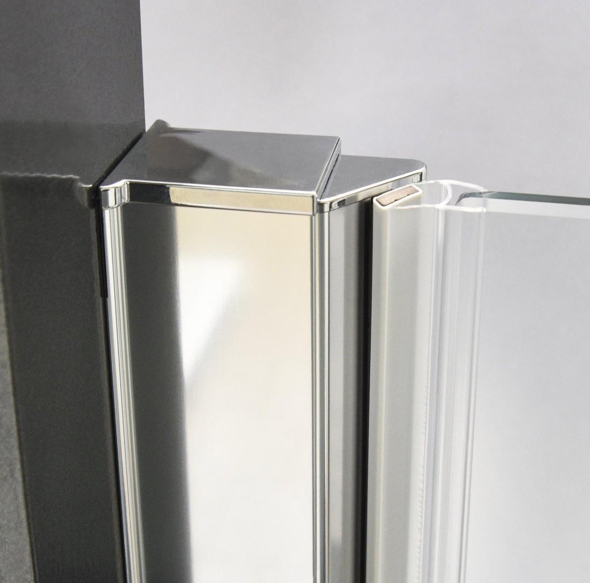 Душевая дверь ELEGANT NEO GDO1N/1100/985-1085*2015 brillant/transparent/6mm + GZ профиль