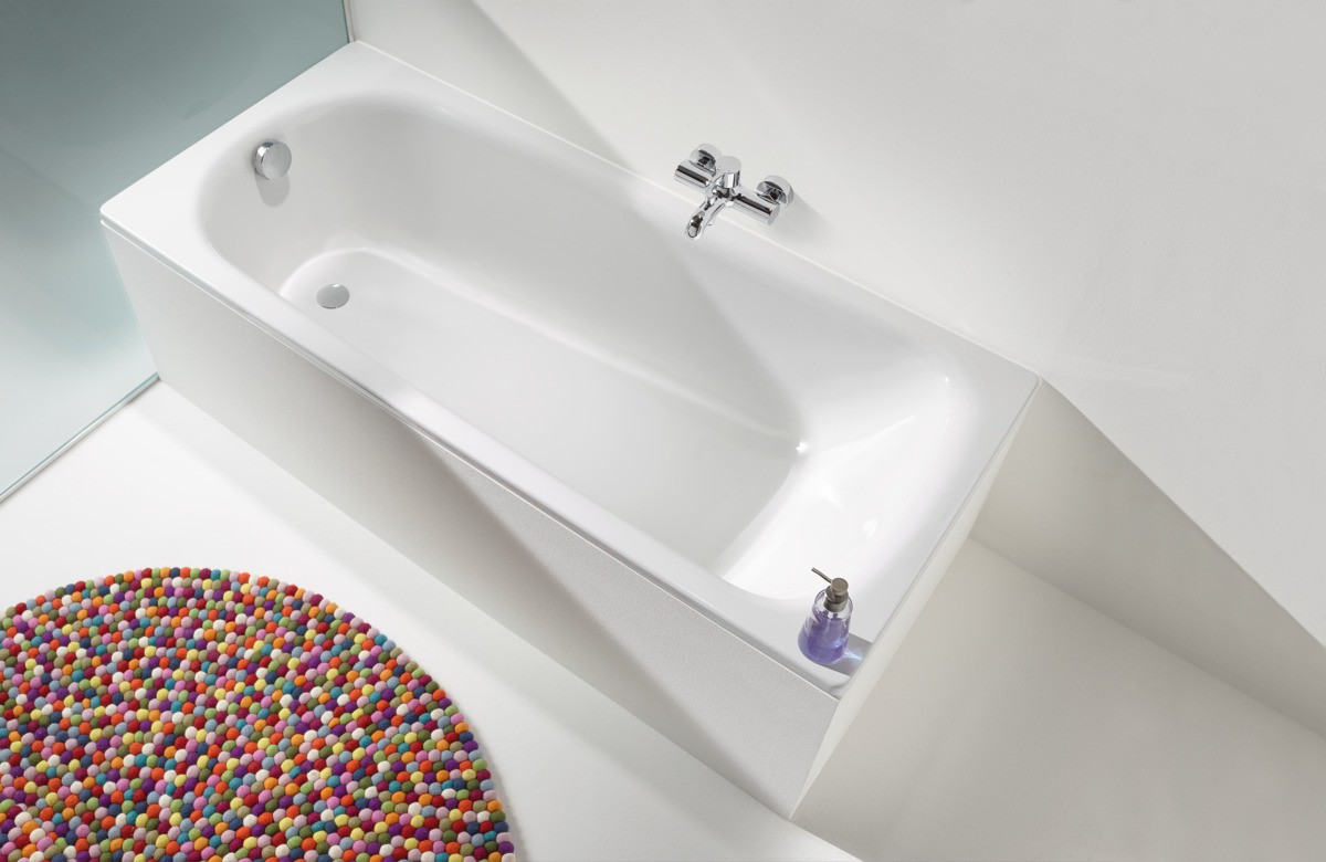 Стальная ванна Kaldewei Advantage Saniform Plus 363-1 180x80 с покрытием easy-clean толщина стали 3,5 мм