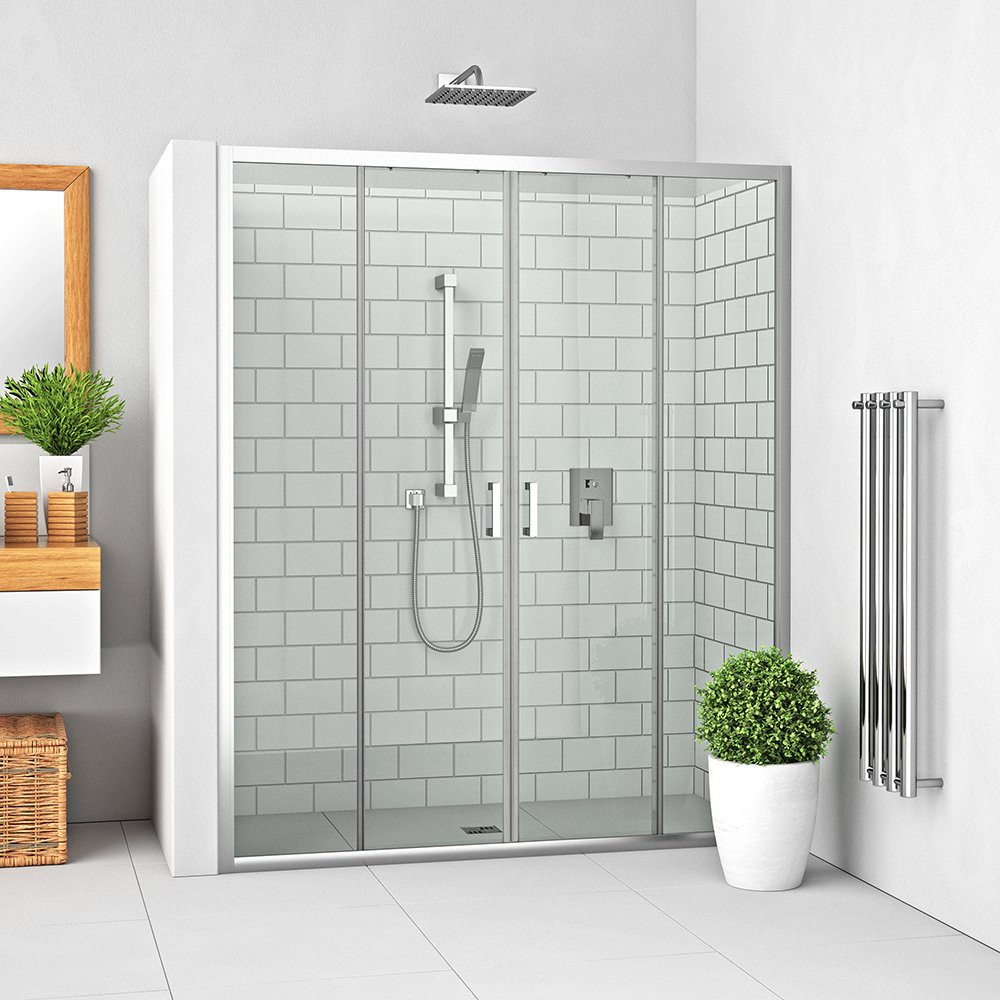 Душевая дверь LEGA LLD4/1100 1100*1900 brillant/transparent/5-4mm