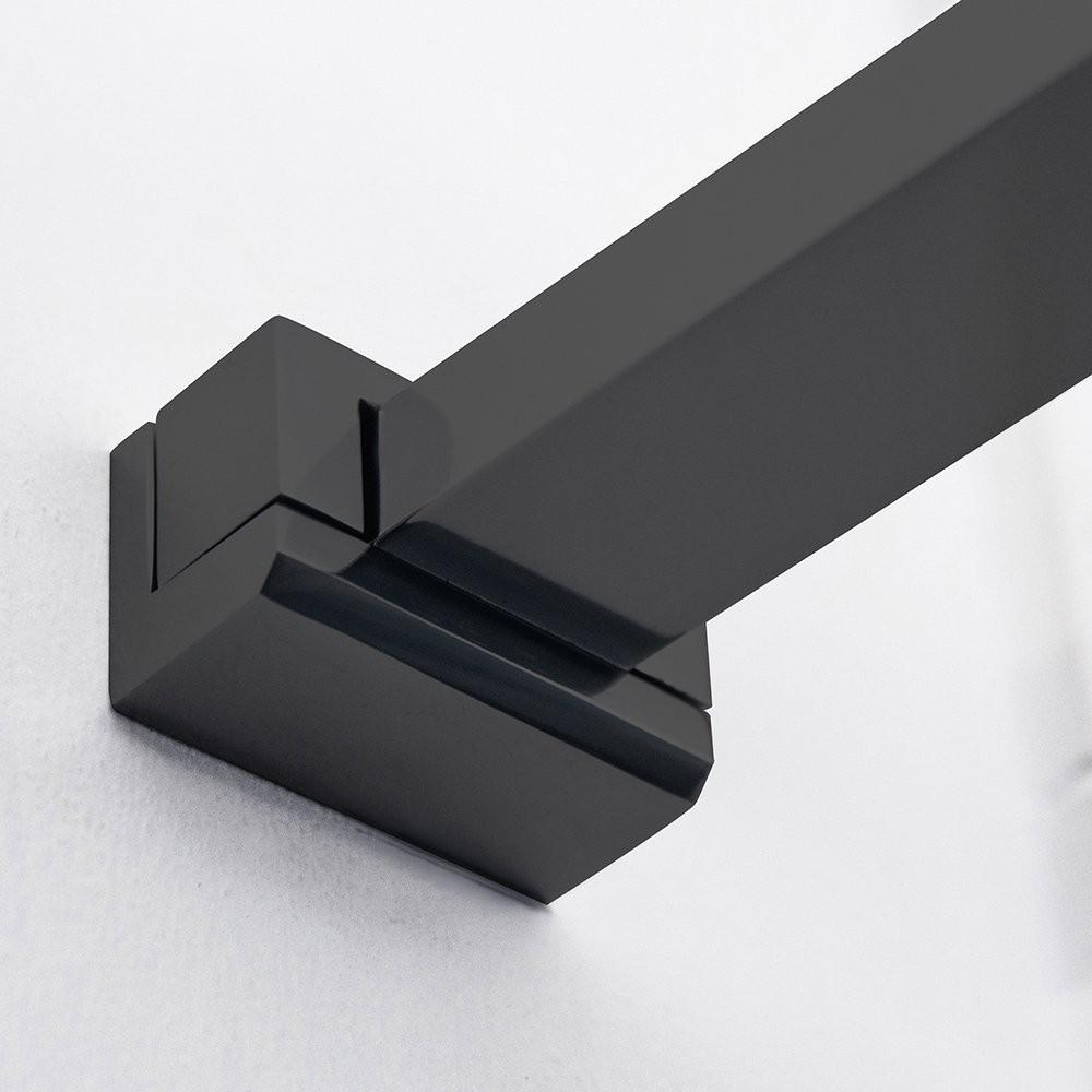 Душевое ограждение ECWALK/1400 1400*2075 black elox/transparent/6mm