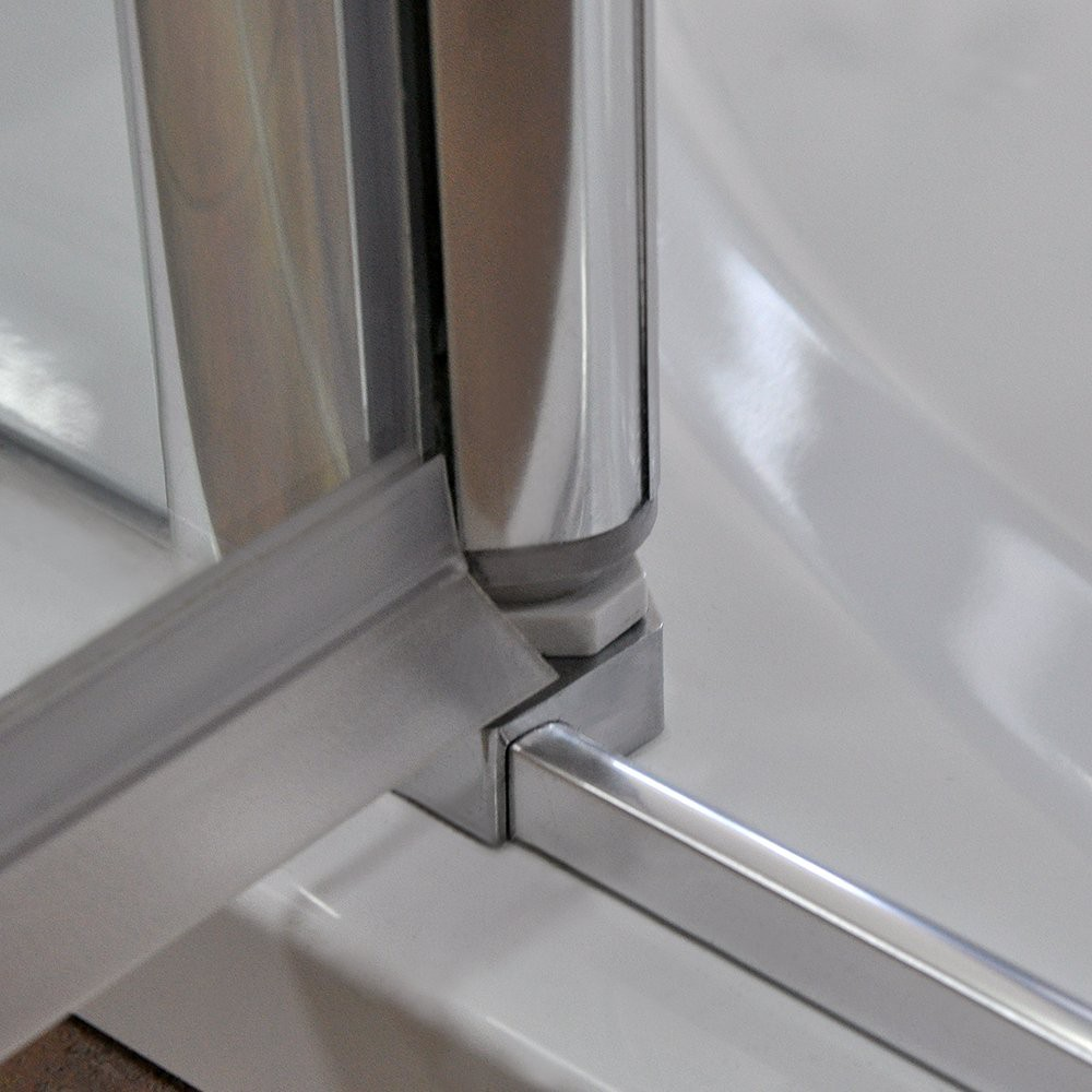 Душевая дверь TOWER TCN2/1000 1000*2012 silver/intimglass/6mm