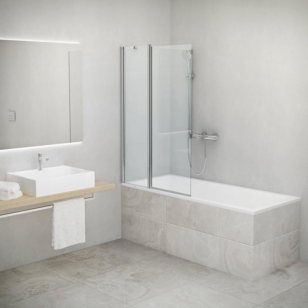 Шторка для ванн TV2 970*1420 brillant/transparent/6mm