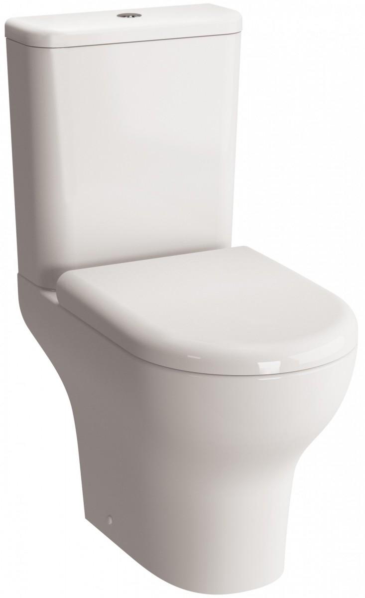 Комплект безободкового унитаза Vitra Zentrum Rim-Ex с сиденьем микролифт, механизм смыва Geberit