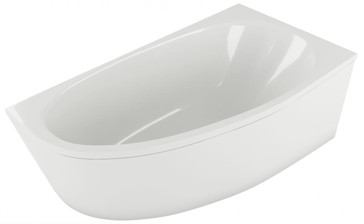 Акриловая ванна Акватек Дива 160*90 правая