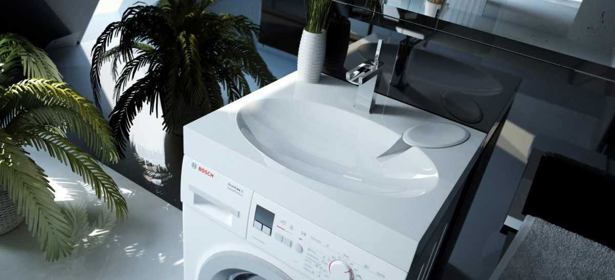 Раковина на стиральную машину Andrea Comfort