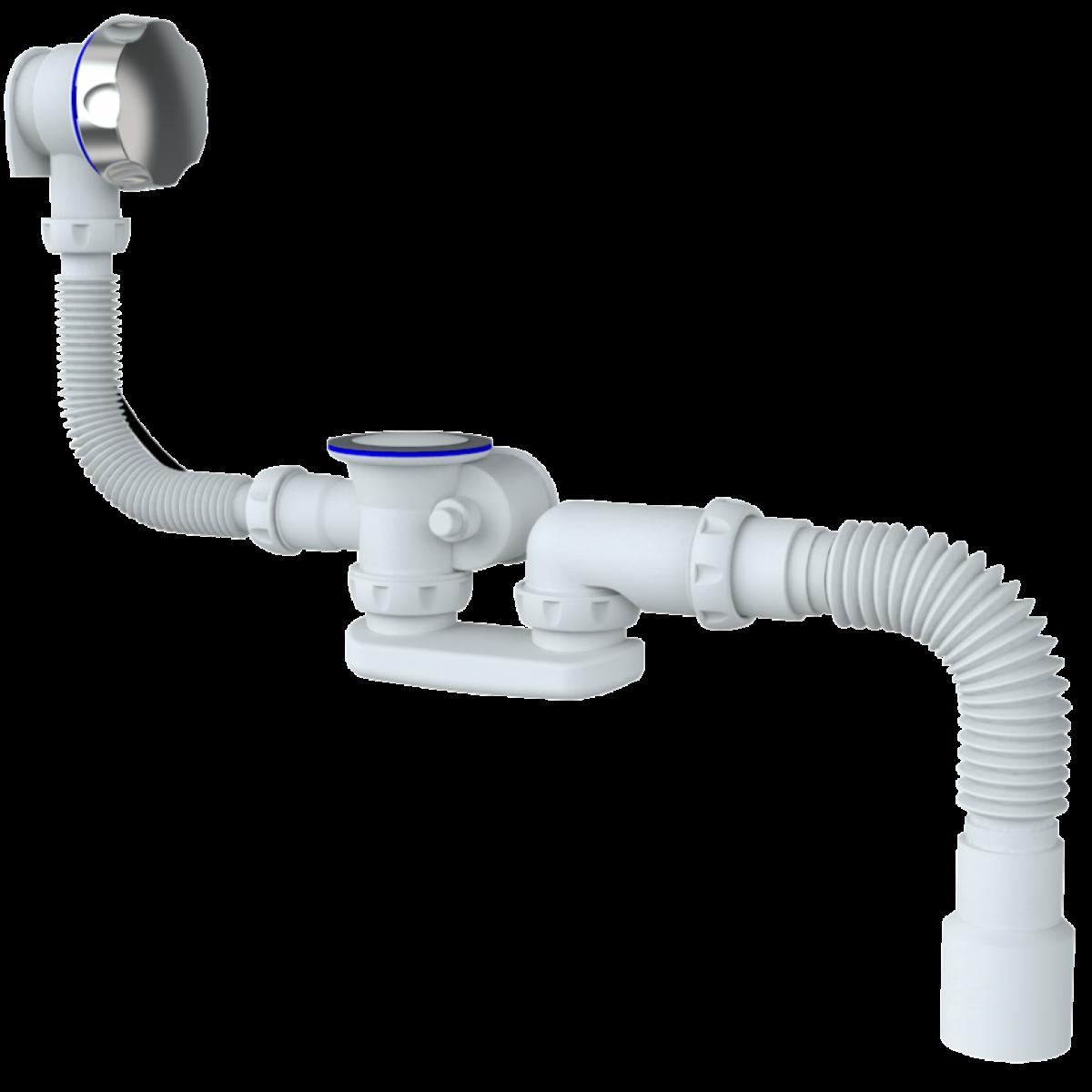 Обвязка на ванну Unicorn S102 с гофрой