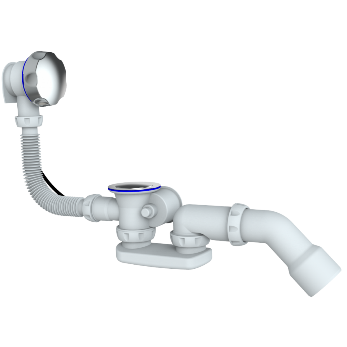 Обвязка на ванну Unicorn S101 с коленом
