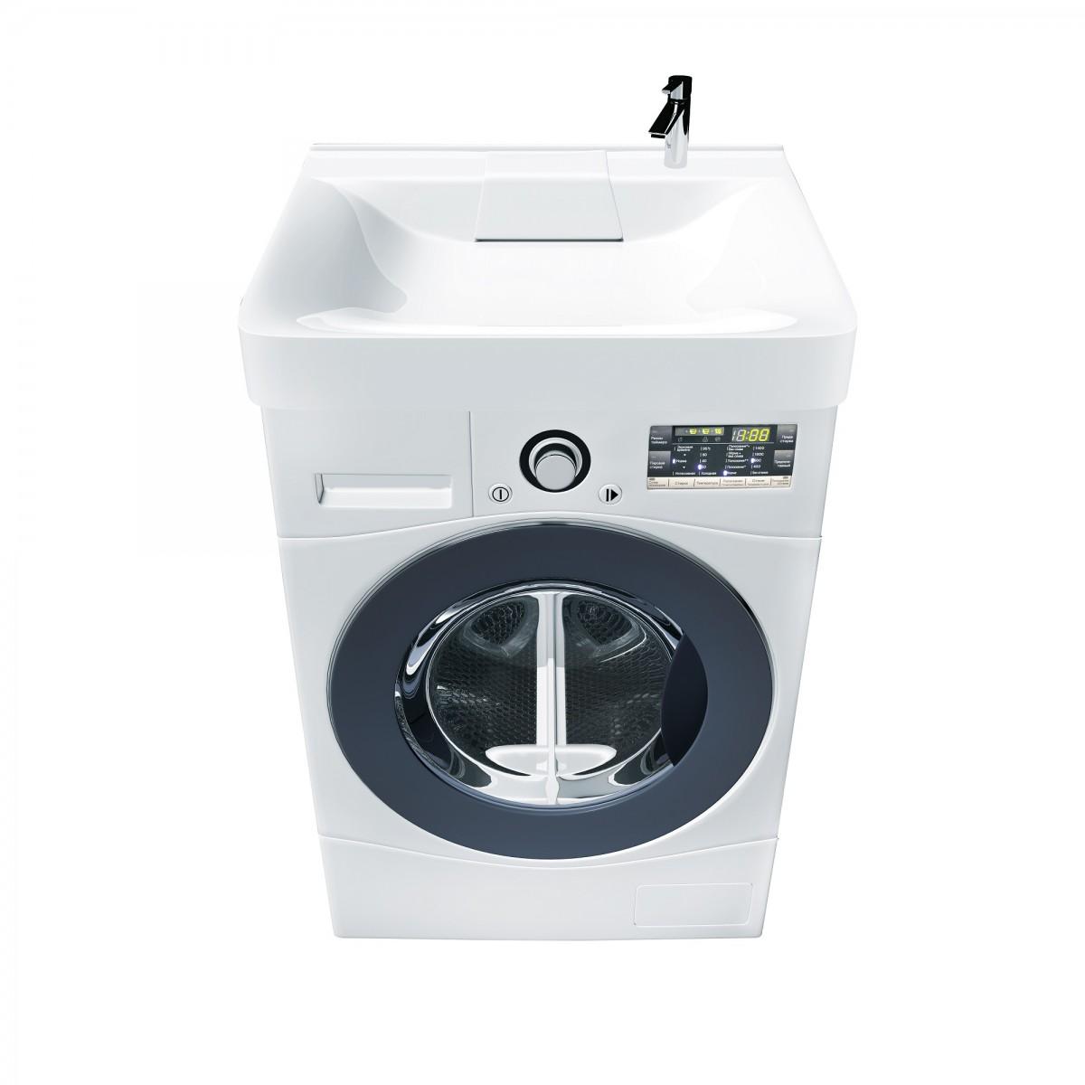 Раковина Marka One Laundry 60x60 на стиральную машину