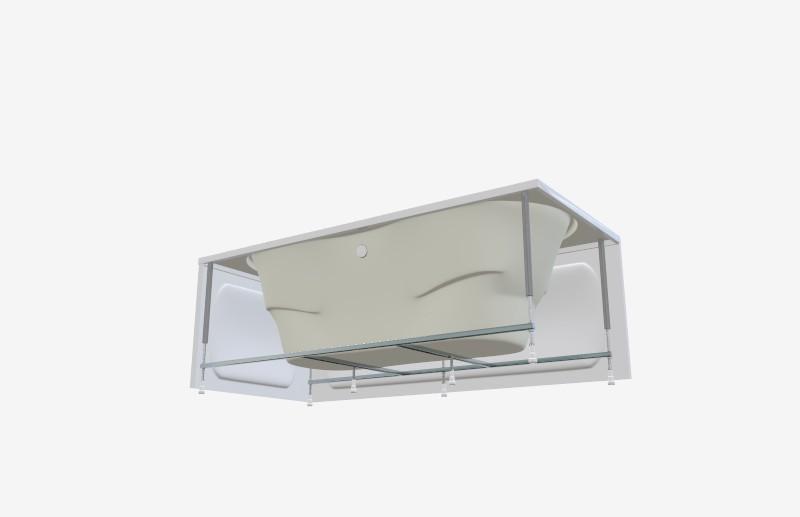 Ванна акриловая 1МарКа Dinamika 170x80