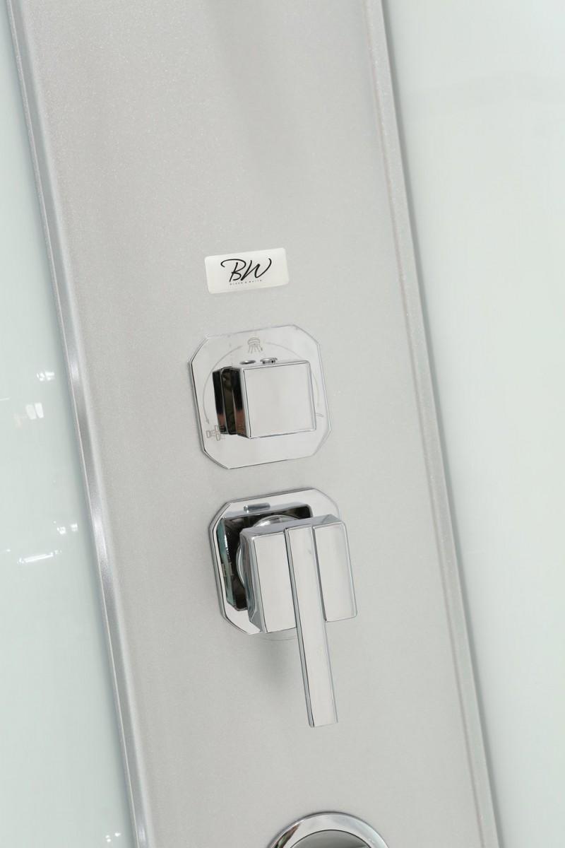 Душевая кабина Black&White G5701 90x90