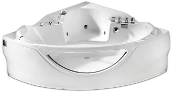 Акриловая гидромассажная ванна Gemy G9025 II B 155x155 см