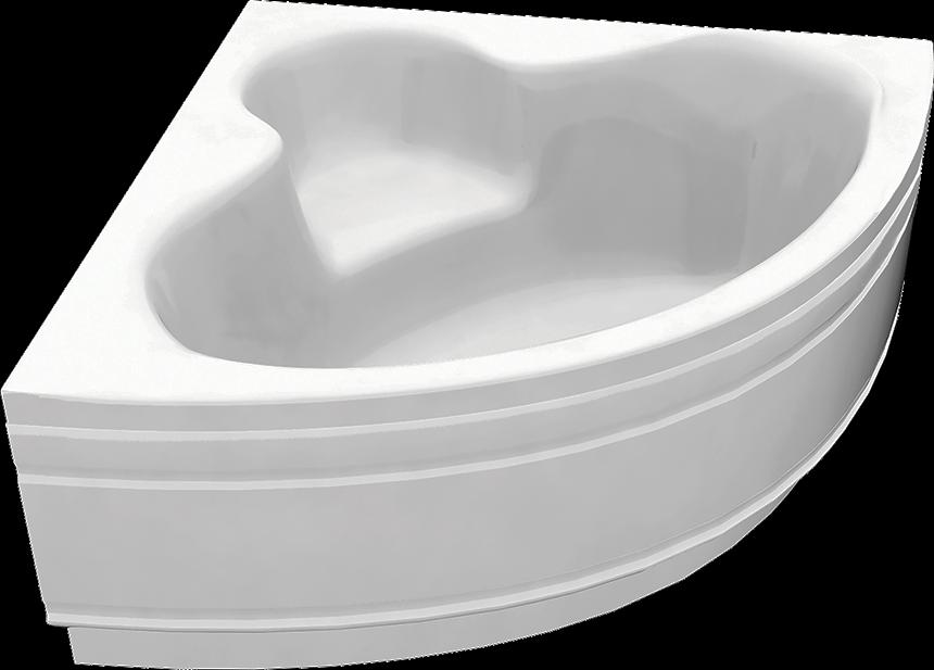 Угловая акриловая ванна C-Bath Aurora 120x120