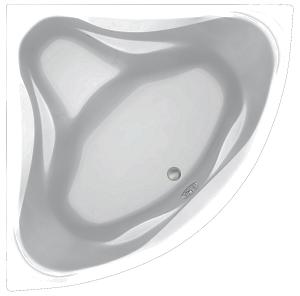 Угловая акриловая ванна C-Bath Aurora 150x150