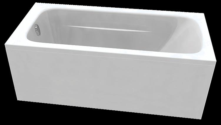 Акриловая ванна C-Bath Muse 180x70