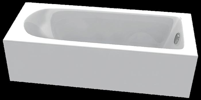 Акриловая ванна C-Bath Rea 170x70