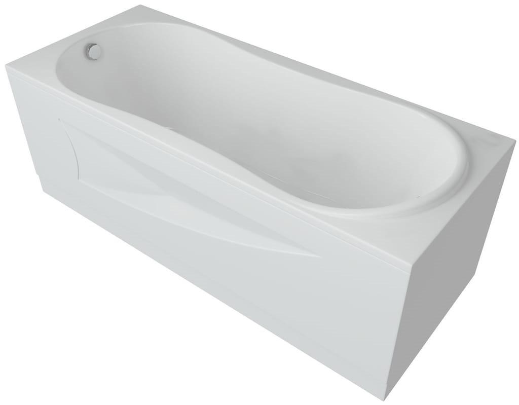Акриловая ванна Акватек Афродита 170х70 на каркасе со сливом-переливом