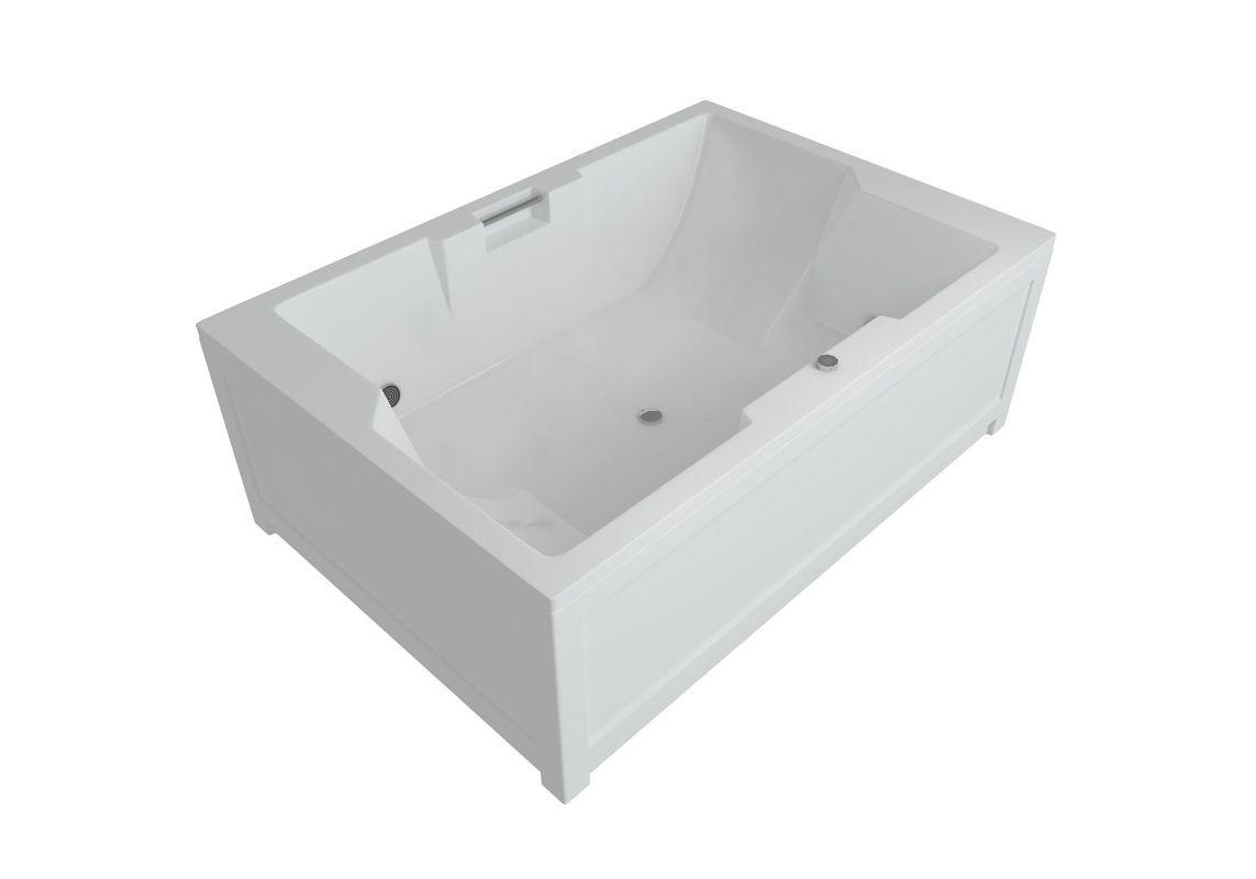 Акриловая ванна Акватек Дорадо 190х130 на каркасе со сливом-переливом