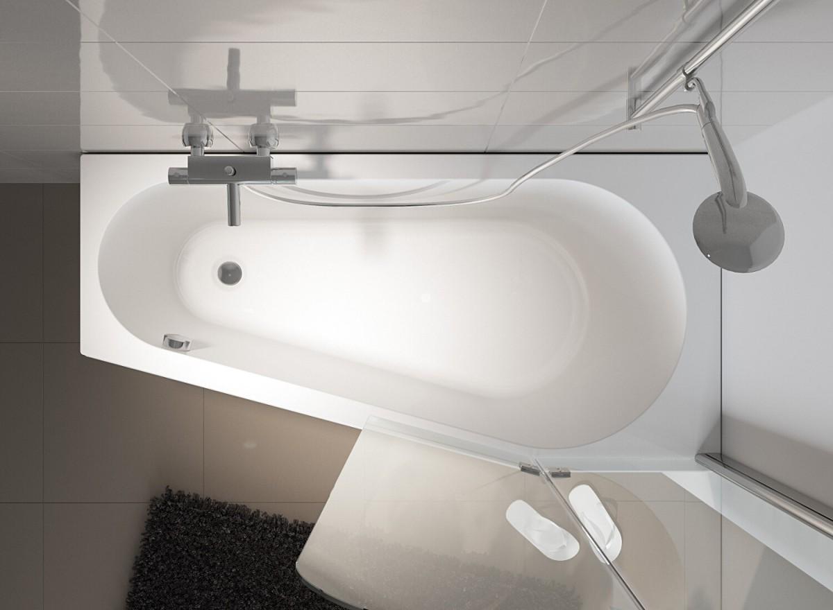 Акриловая ванна Riho Delta 160 L