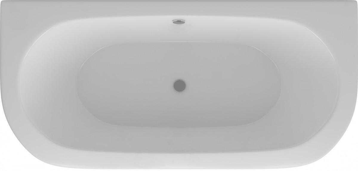 Акриловая ванна Акватек Морфей 190х90 на каркасе со сливом-переливом