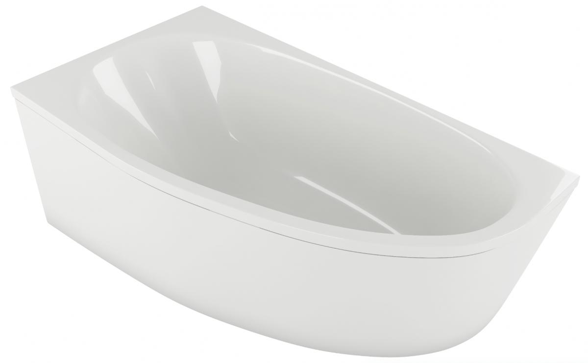 Акриловая ванна Акватек Дива 160*90 левая